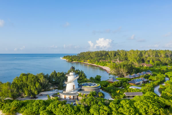 Aerial - ©Four Seasons Resort Seychelles at Desroches Island
