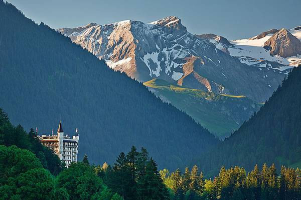 Exterior -©Gstaad Palace