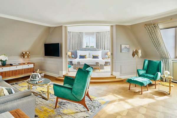 Bavaria Suite Living Room - ©Mandarin Oriental, Munich