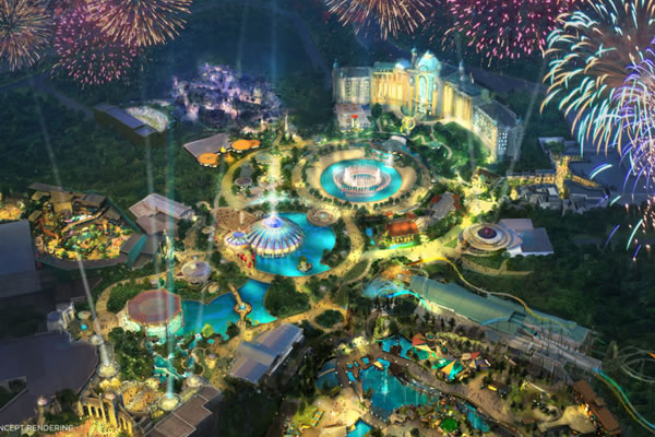 Work Resumes on Universal's Epic Universe