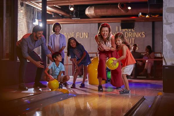 Bowling at Wavehouse -©Atlantis The Palm Dubai