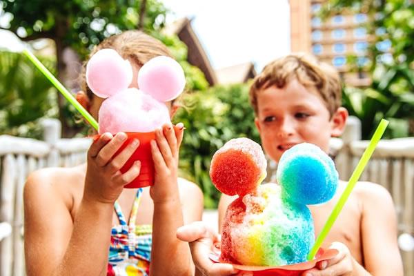Mickey-Shaped Kiddie Treats - ©Aulani, A Disney Resort & Spa
