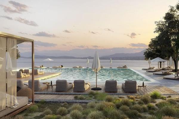 Main Pool - ©Domes of Corfu