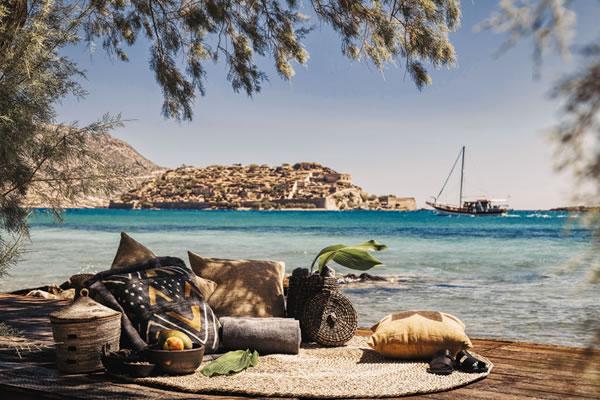 Beach Sitting Area -©Domes of Elounda, Crete