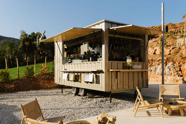 Food Truck -©Domes of Elounda, Crete