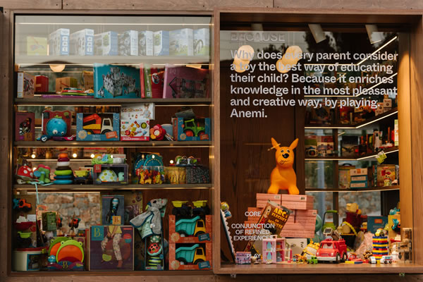 Pop Up Toys Store Anemi -©Domes of Elounda, Crete