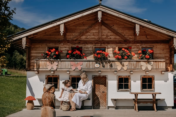 Family Time at  Nature Hotel Forsthofgut