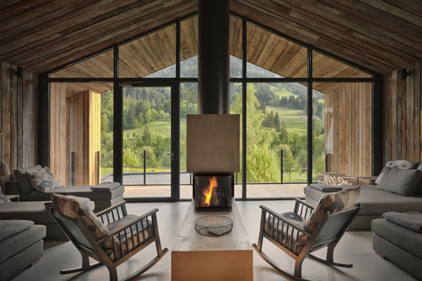 waldSPA relaxing area -©Forsthofgut