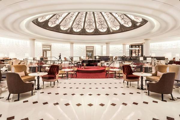 Rotunda Lounge -©Four Seasons Hotel London at Ten Trinity Square