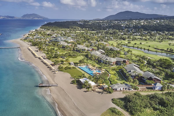 Bird's Eye View ©Four Seasons Resort Nevis, West Indies