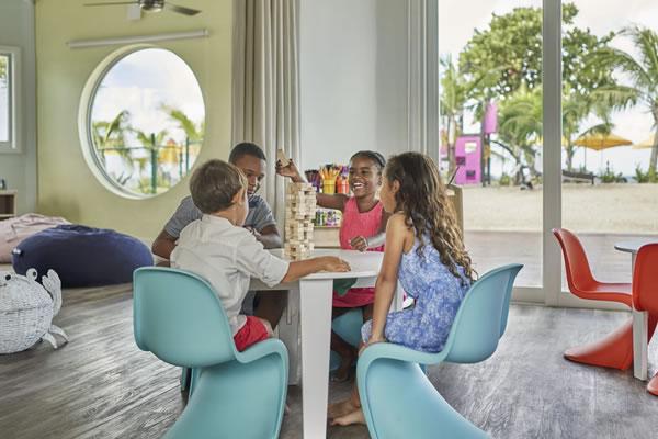 Kids for all Seasons Kids Club ©Four Seasons Resort Nevis, West Indies