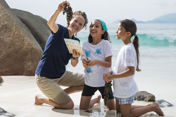 Marine Biology Classes ©Four Seasons Resort Nevis, West Indies