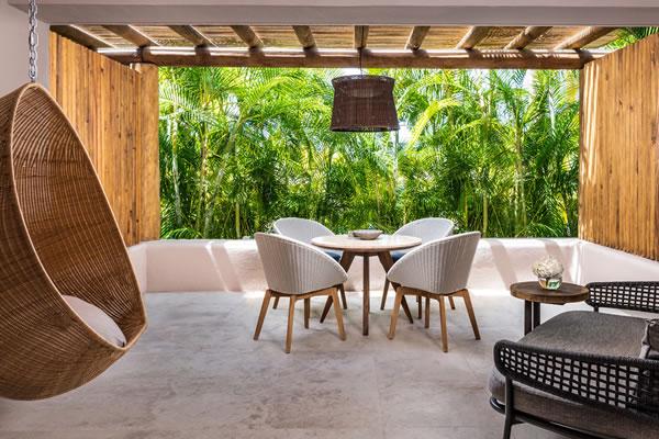 Living Area of Two-Bedroom Family Casitas ©Four Seasons Resort Punta Mita, Mexico