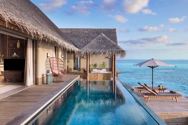 Three-Bedroom Ocean View - ©Joali Maldives
