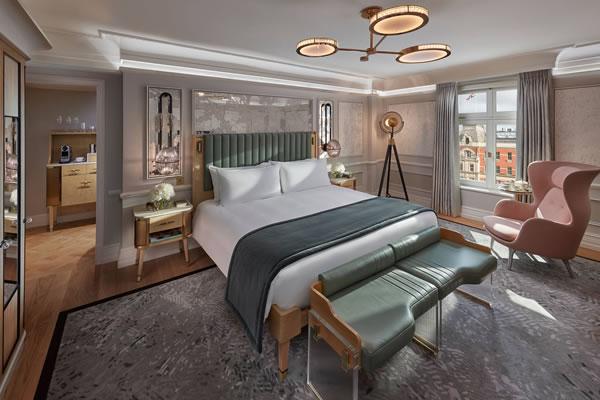 Deluxe Room -©Mandarin Oriental Hyde Park, London