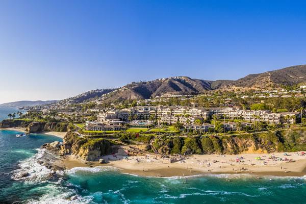 Aerial -©Montage Laguna Beach