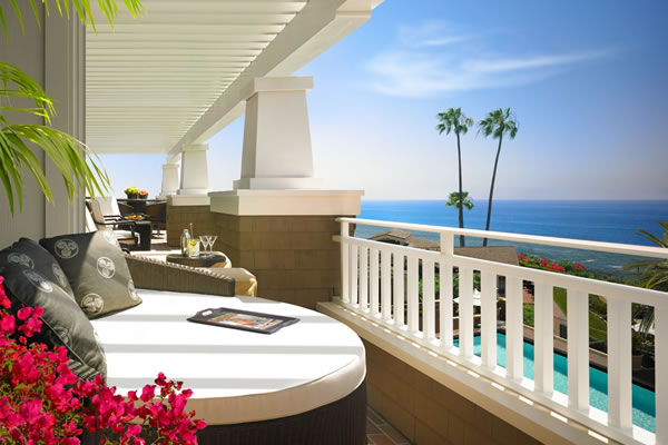 Catalina Suite Balcony -©Montage Laguna Beach