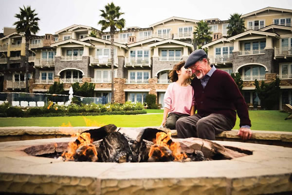 Fireplace -©Montage Laguna Beach