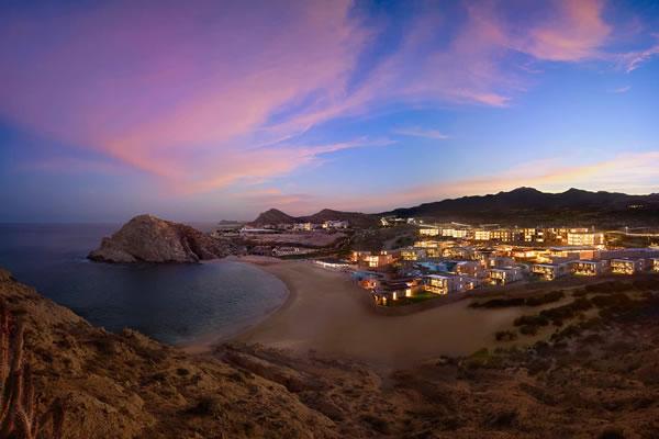 Resort at Dusk ©Montage Los Cabos