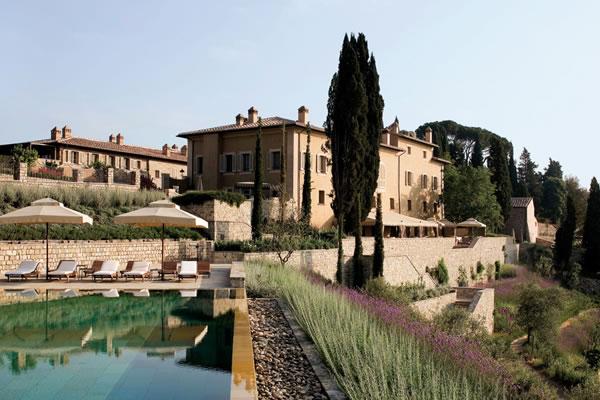 Borgo Pool - ©Rosewood Castiglion Del Bosco, Tuscany