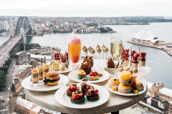 High Tea at Blu Bar - ©Shangri-La Hotel, Sydney