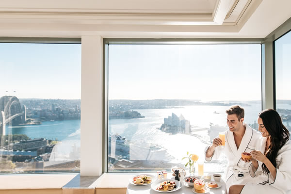 In-room Dining - ©Shangri-La Hotel, Sydney