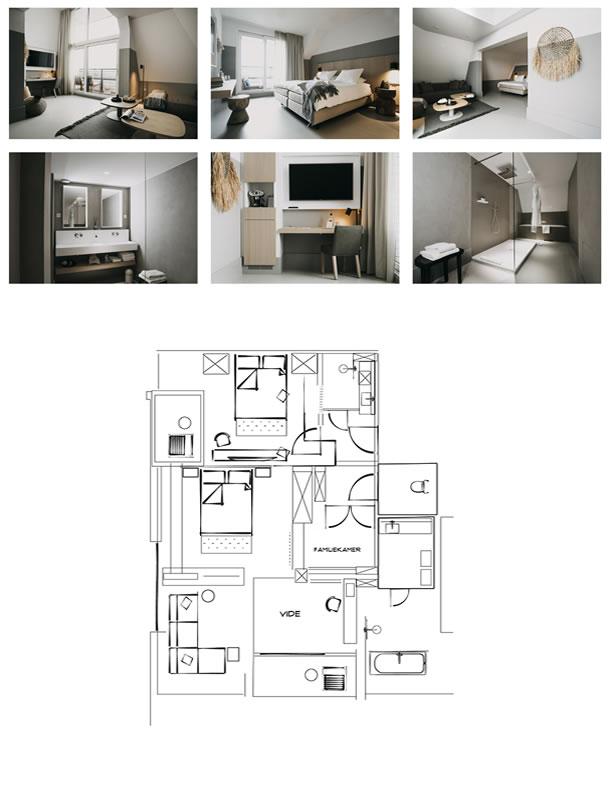 Family Suite - ©Strandhotel Cadzand-Bad