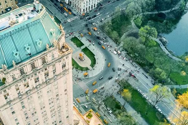Aerial -©The Pierre NY, a Taj Hotel