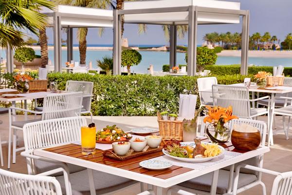 Dinner at La Plage -©The Ritz-Carlton, Bahrain
