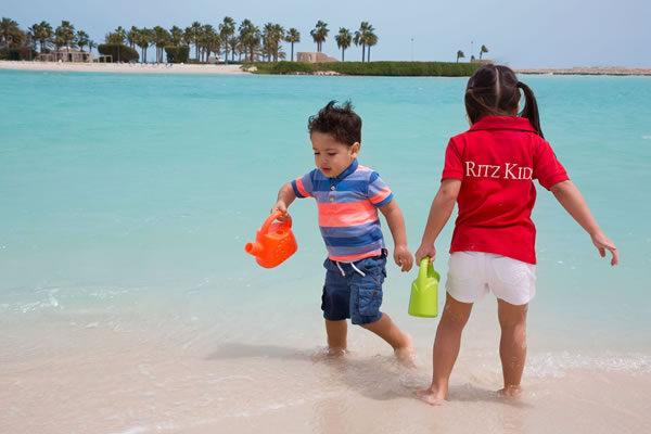 Kids on the Beach -©The Ritz-Carlton, Bahrain