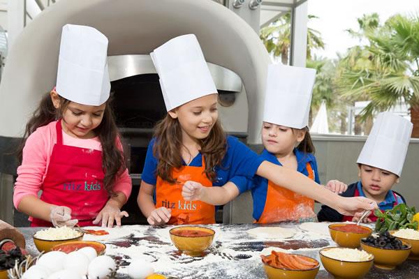 Kids Cooking Class -©The Ritz-Carlton, Bahrain