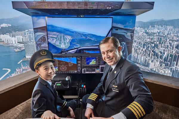 Ritz Kids® Aviator Adventure ©The Ritz-Carlton, Hong Kong