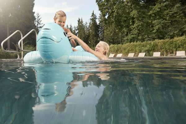 Summer Family Getaway at Waldhaus Flims Wellness Resort
