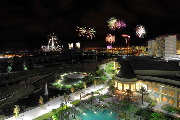 Disney® Fireworks - ©Waldorf Astoria Orlando