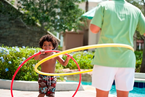 Hula Hoops - ©Waldorf Astoria Orlando