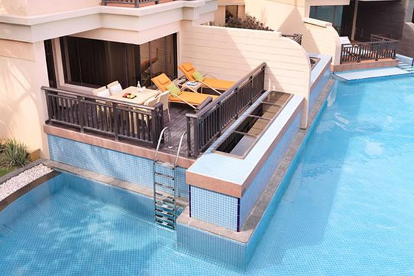 Deluxe Family Lagoon Access Room ©Anantara The Palm Dubai Resort