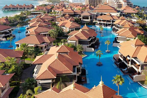 Aerial ©Anantara The Palm Dubai Resort