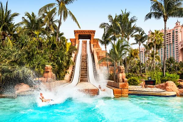 Challenger Slide ©Atlantis Paradise Island Bahamas