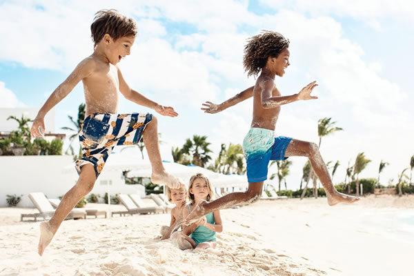 Kids on the Beach ©Cap Juluca, A Belmond Hotel, Anguilla