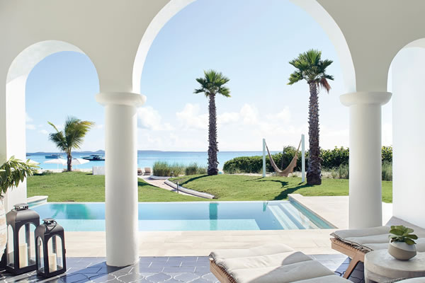 Two-Bedroom Casita with Plunge Pool ©Cap Juluca, A Belmond Hotel, Anguilla