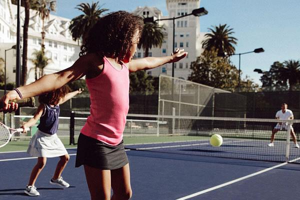 Tennis Match ©Claremont Club & Spa, A Fairmont Hotel