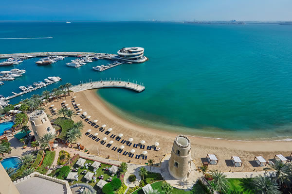 Aerial ©Four Seasons Hotel Doha
