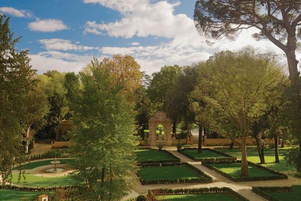 Private Garden ©Four Seasons Hotel Firenze