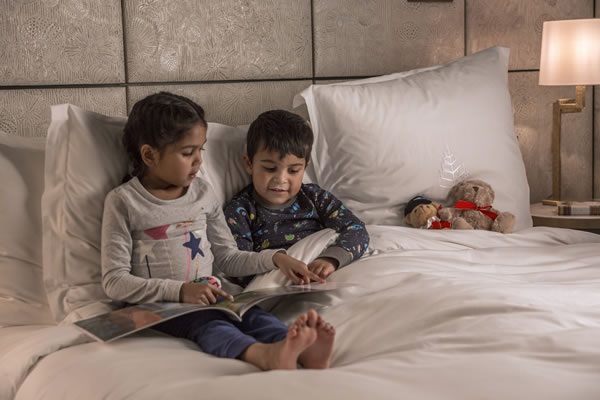 Kids Bedtime ©Four Seasons Hotel London at Ten Trinity Square