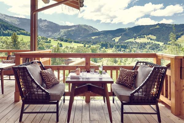 Bar Edmond ©Four Seasons Hotel Megève