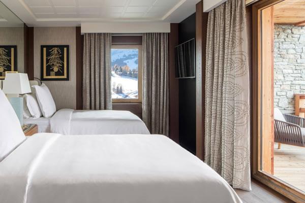 One-Bedroom Suite ©Four Seasons Hotel Megève