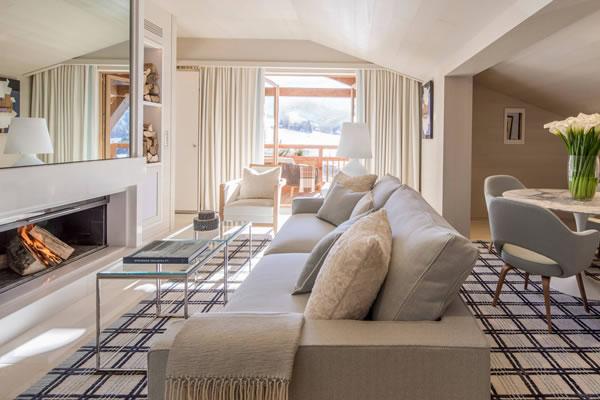 Suite Rochebrune ©Four Seasons Hotel Megève