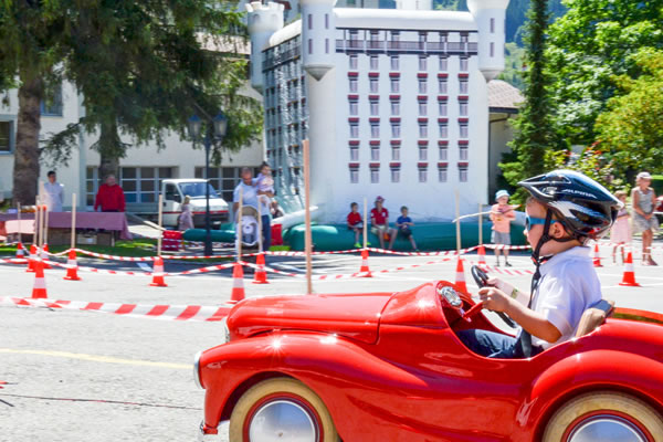 Kids' Grand Prix on 8 August 2021 at Gstaad Palace