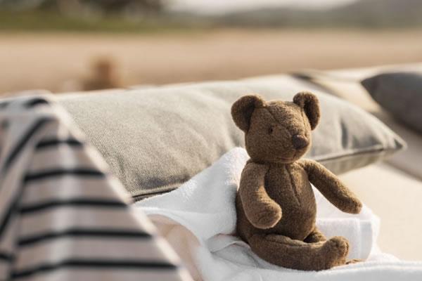Teddy Bear on Vacation ©One&Only Mandarina, Mexico