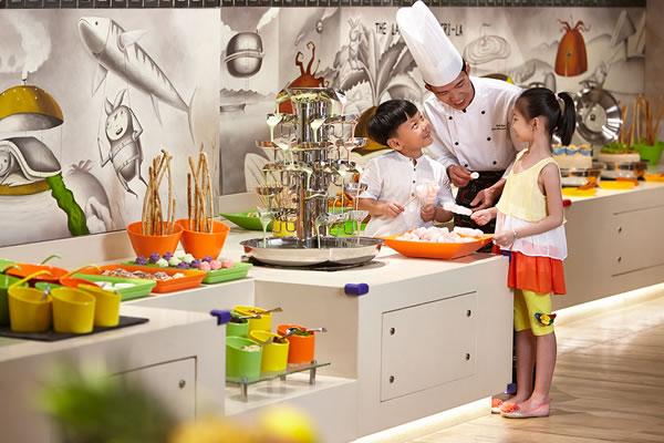 Children's Buffet ©Shangri-La's Sanya Resort and Spa Hainan